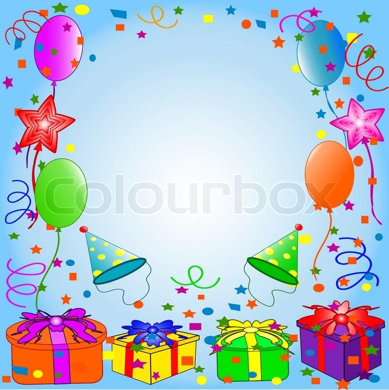 Happy Birthday background Stock Vector Colourbox - birthday backround