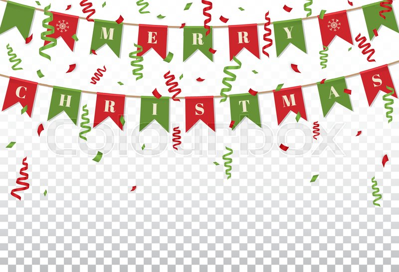 Merry Christmas background with xmas Stock Vector Colourbox
