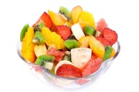 Fresh Fruit Salad in the bowl | Stock Photo | Colourbox