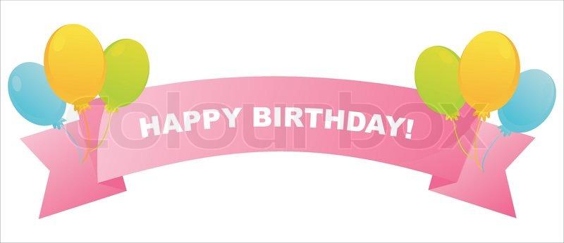 birthday ribbon - Towerssconstruction