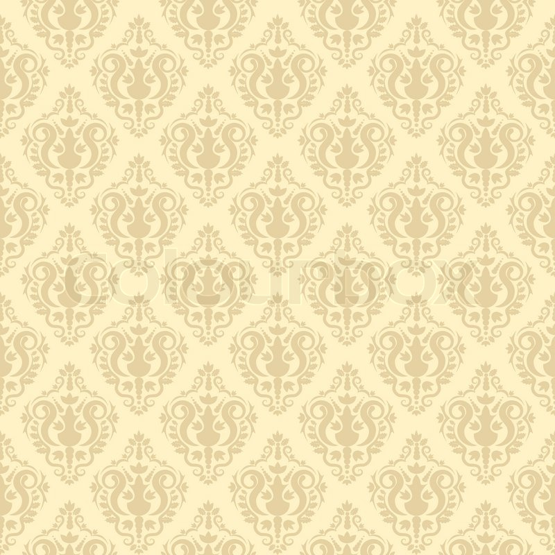 Old Paper Wallpaper Hd Seamless Vintage Background Stock Vector Colourbox