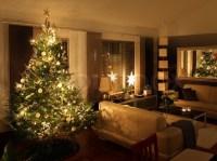 Christmas tree in modern living room | Stock Photo | Colourbox