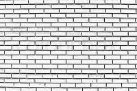 Black and white brick wall | Stock Photo | Colourbox