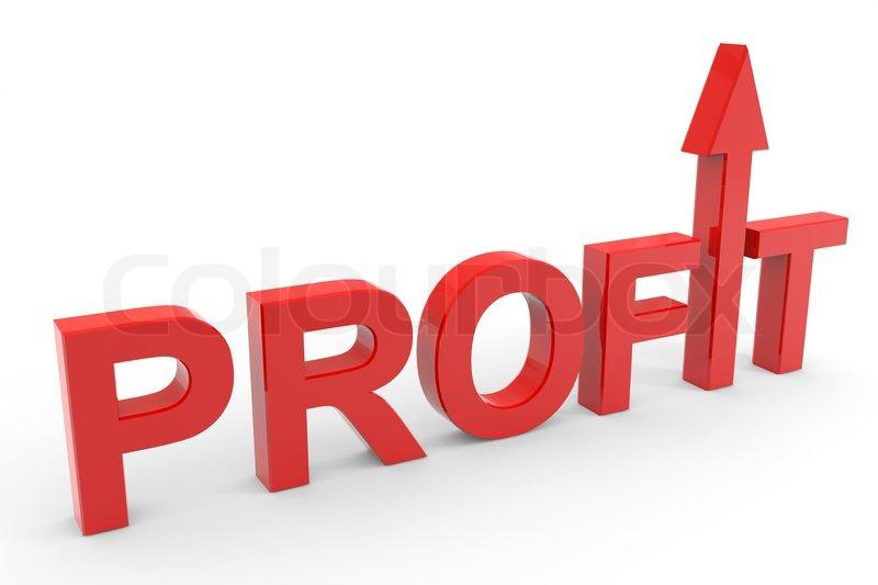 Increase your profit Stock Photo Colourbox - profit & loss sheets
