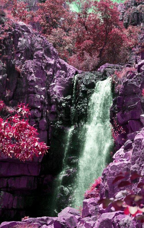 Fall Scene Desktop Wallpaper Beautiful Waterfall In Katherine Gorge Australia Pink