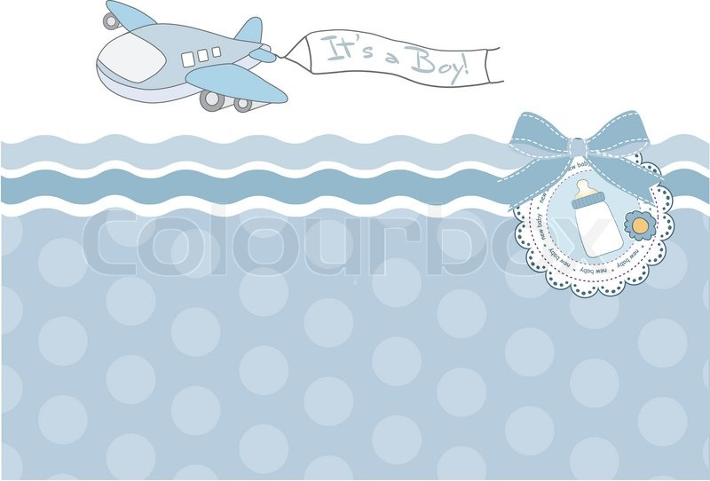 New Cute Baby Girl Wallpapers Beautiful Background With A Toy Airplane Baby Shower Card