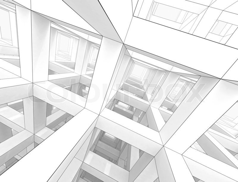 3d Interior Wallpaper Hd Abstract Architecture Background Internal Space Of A