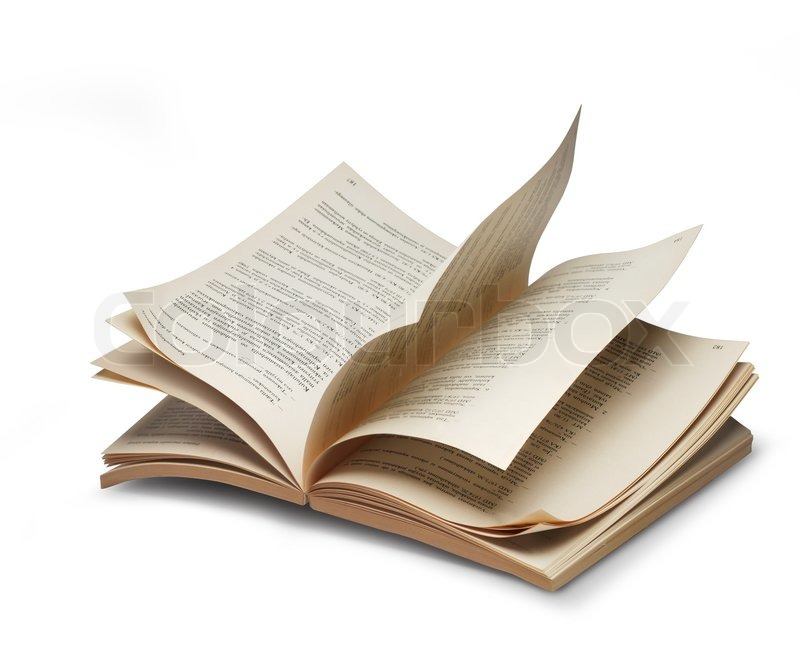 open book pages - Canasbergdorfbib