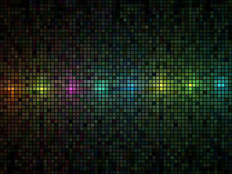 3d Wallpaper Squares Abstract Multicolor Lights Disco Tile Vector Background