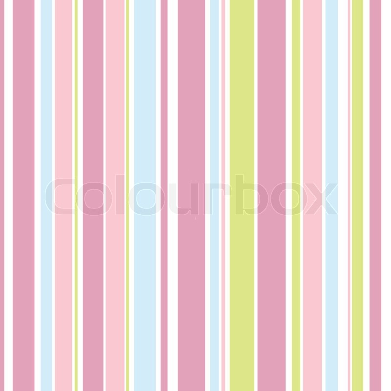 Background with colorful pink, blue and green stripes Stock Photo
