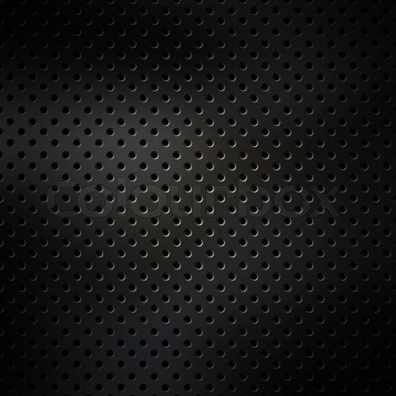 Black Diamond Plate Wallpaper Perforated Metal Surface Stock Photo Colourbox