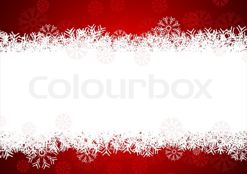 Snowflakes background for winter and christmas theme Stock Vector - christmas theme background