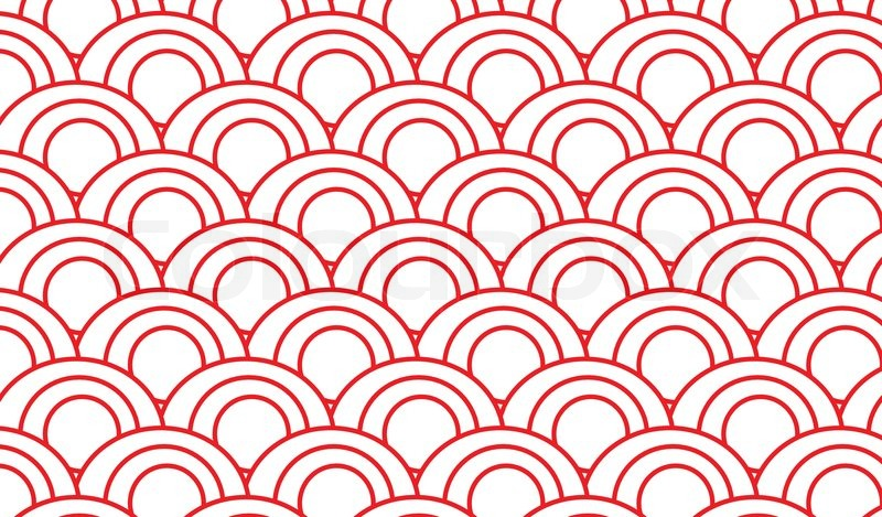 Japanese Wave Wallpaper Hd Japanese Pattern Vector Stock Vector Colourbox