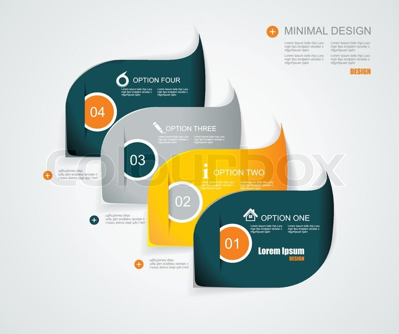 Modern infographics template style Can be used for workflow layout