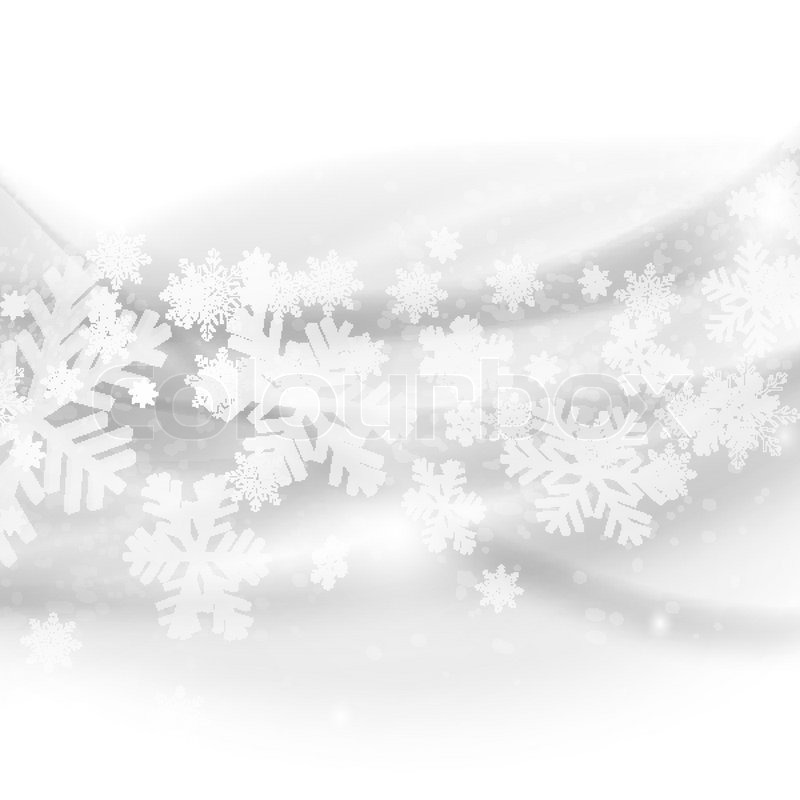 Merry Christmas background Abstract light grey waves with