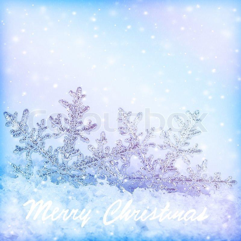 Lavender Color Wallpaper Hd Snowflake Christmas Border Cold Blue Snow Background