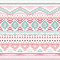 Tribal ethnic seamless stripe pattern. Vector illustration ...