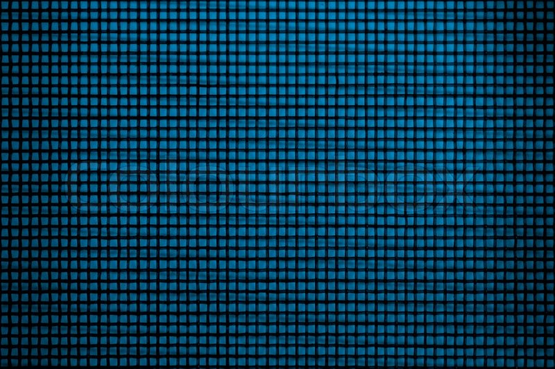 Blue mesh background Stock Photo Colourbox