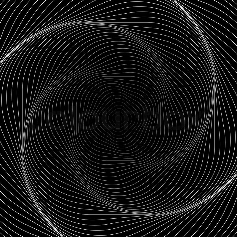 Pc Wallpaper 3d Eye Illusion Design Monochrome Swirl Movement Illusion Background