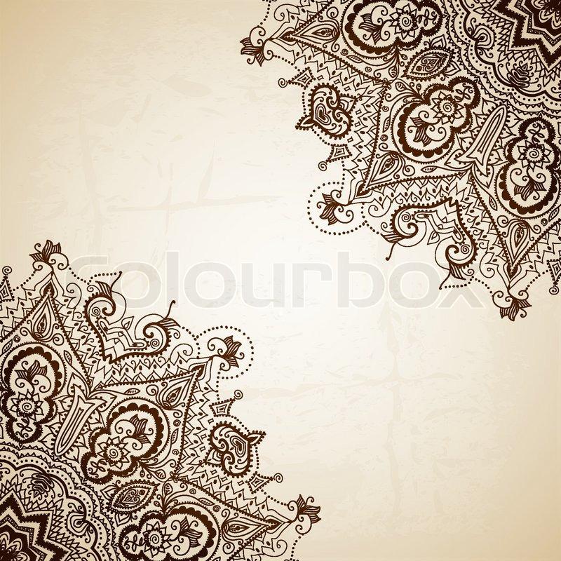 Masha Allah Hd Wallpaper Vintage Vector Pattern Hand Drawn Abstract Background