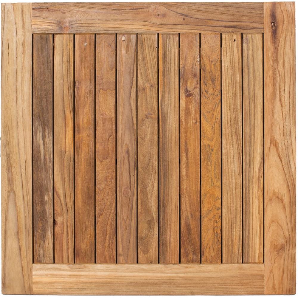Table Haute Teck | Table Haute Bois Massif Élégant Table Haute En ...