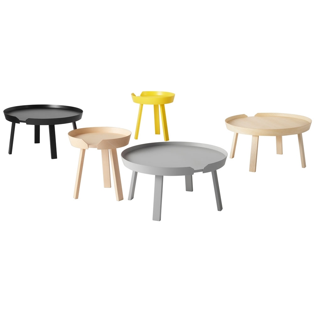 Designer Fußmatten Muuto - Around Coffee Table | Nunido.