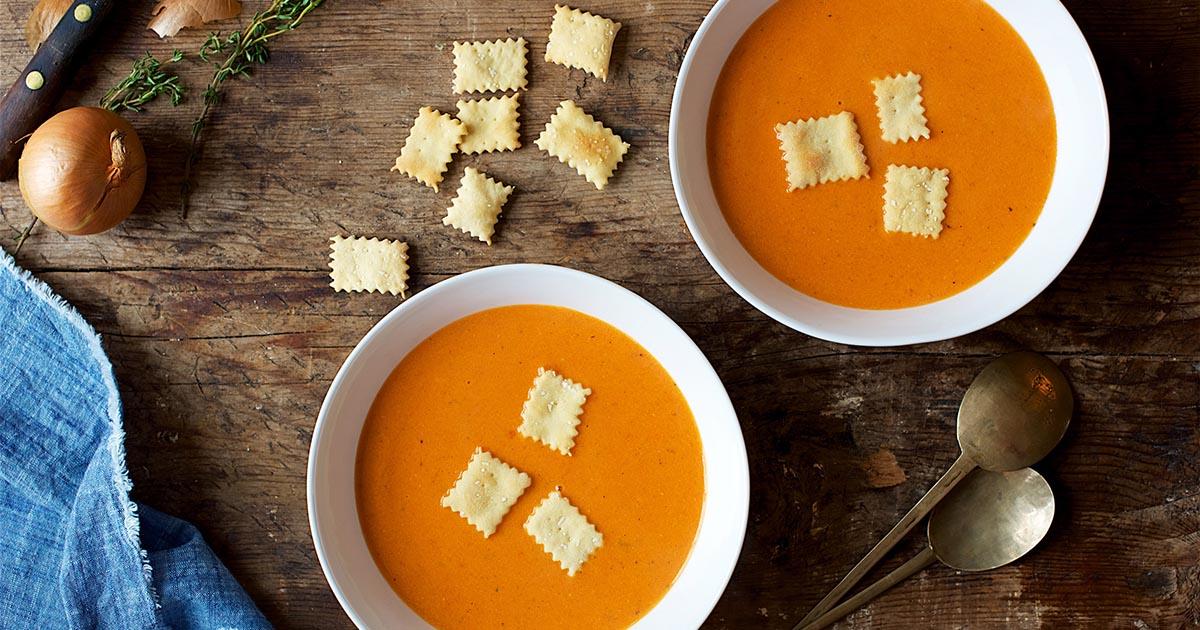 Creamy Tomato Soup Recipe King Arthur Flour