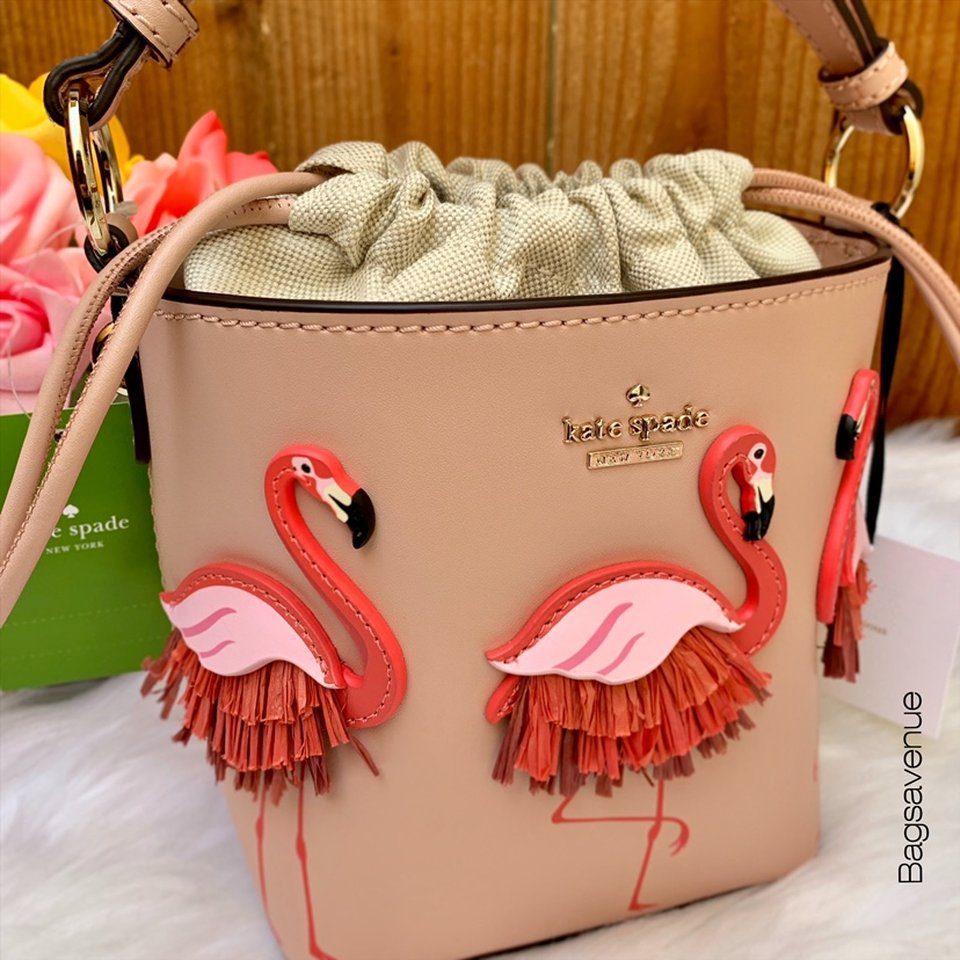 By The Pool Flamingo Kate Spade Pippa By The Pool Flamingo Kate Spade Warm Vellum Depop