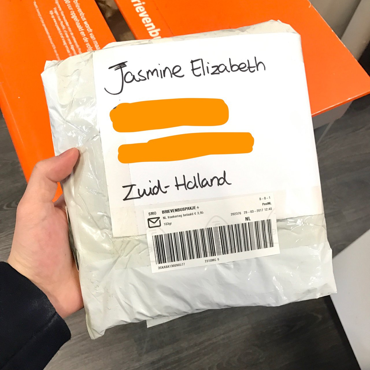 Brievenbuspakje Postnl Listed On Depop By Jund