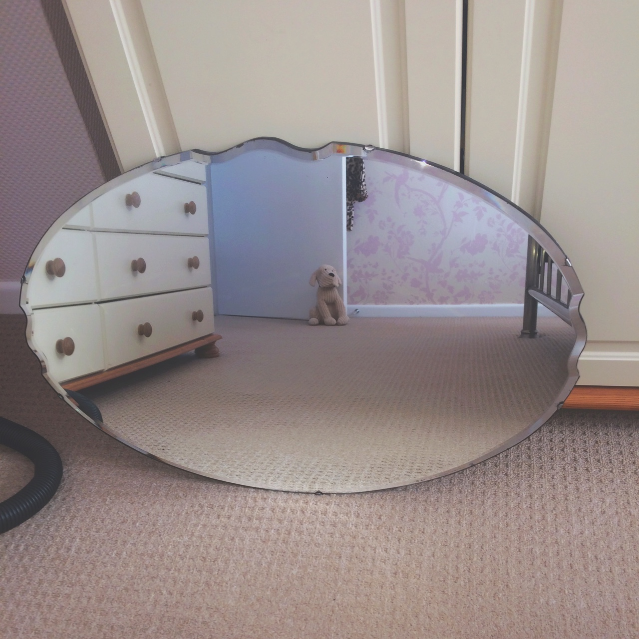 Shabby Look Beautiful Shabby Chic Vintage Victorian Mirror Very Depop