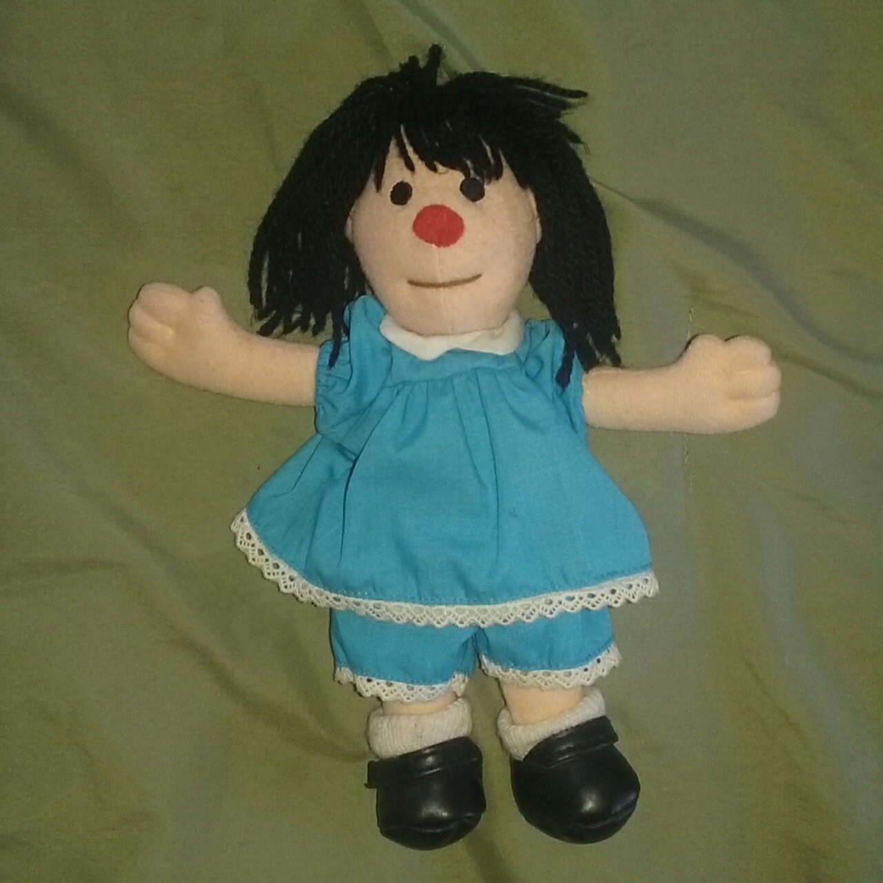 Big Couch Clown Molly Doll From The Big Comfy Couch Circa 1997 Depop