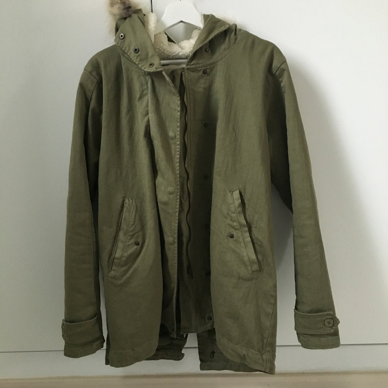 Parka Veste Listed On Depop By Mary Lou15