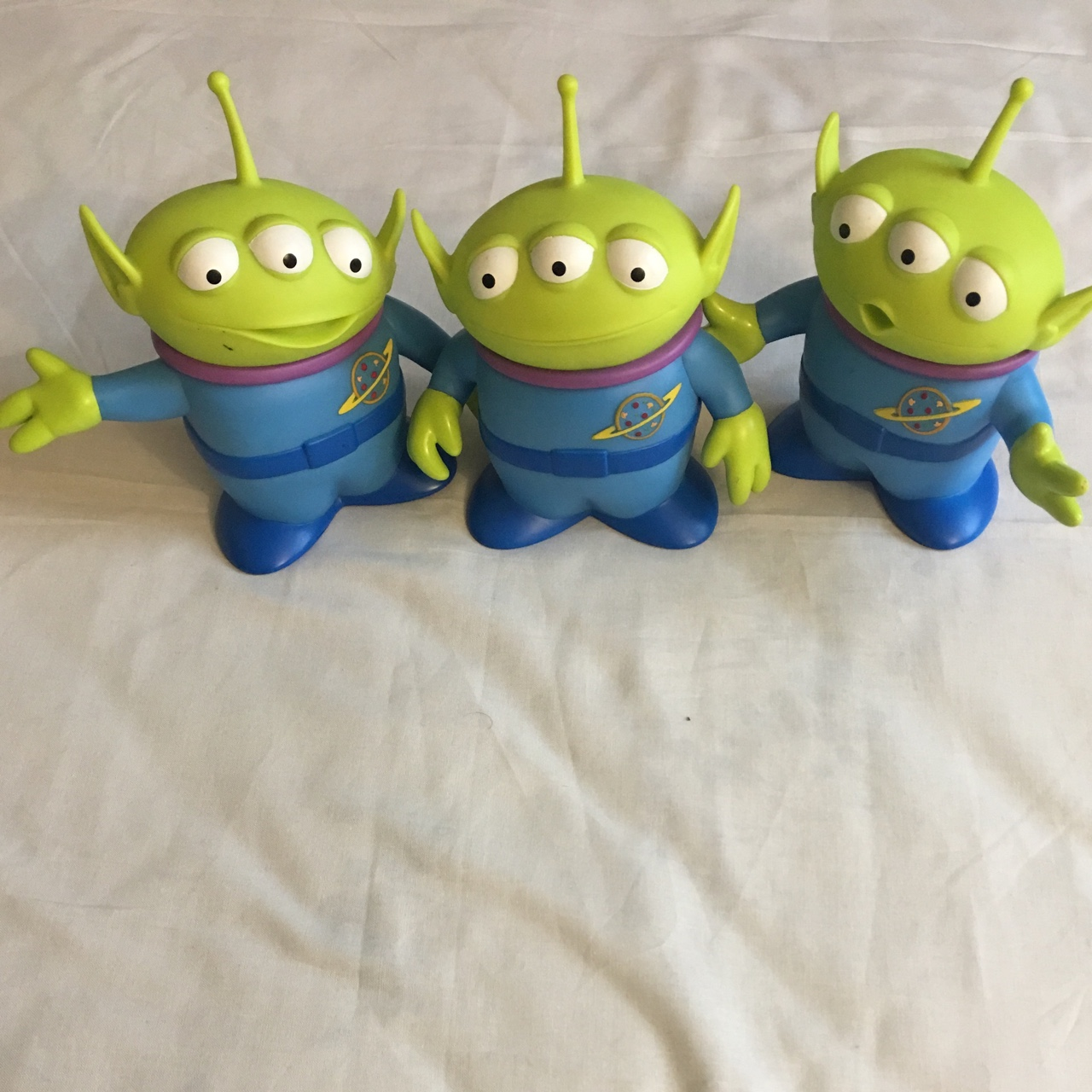 Toy Story Toys Vintage Vintage Toy Story Alien Set Of 3 In Great Condition Depop