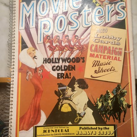 50 years of movie #posters Front page as tear and spine is - Depop