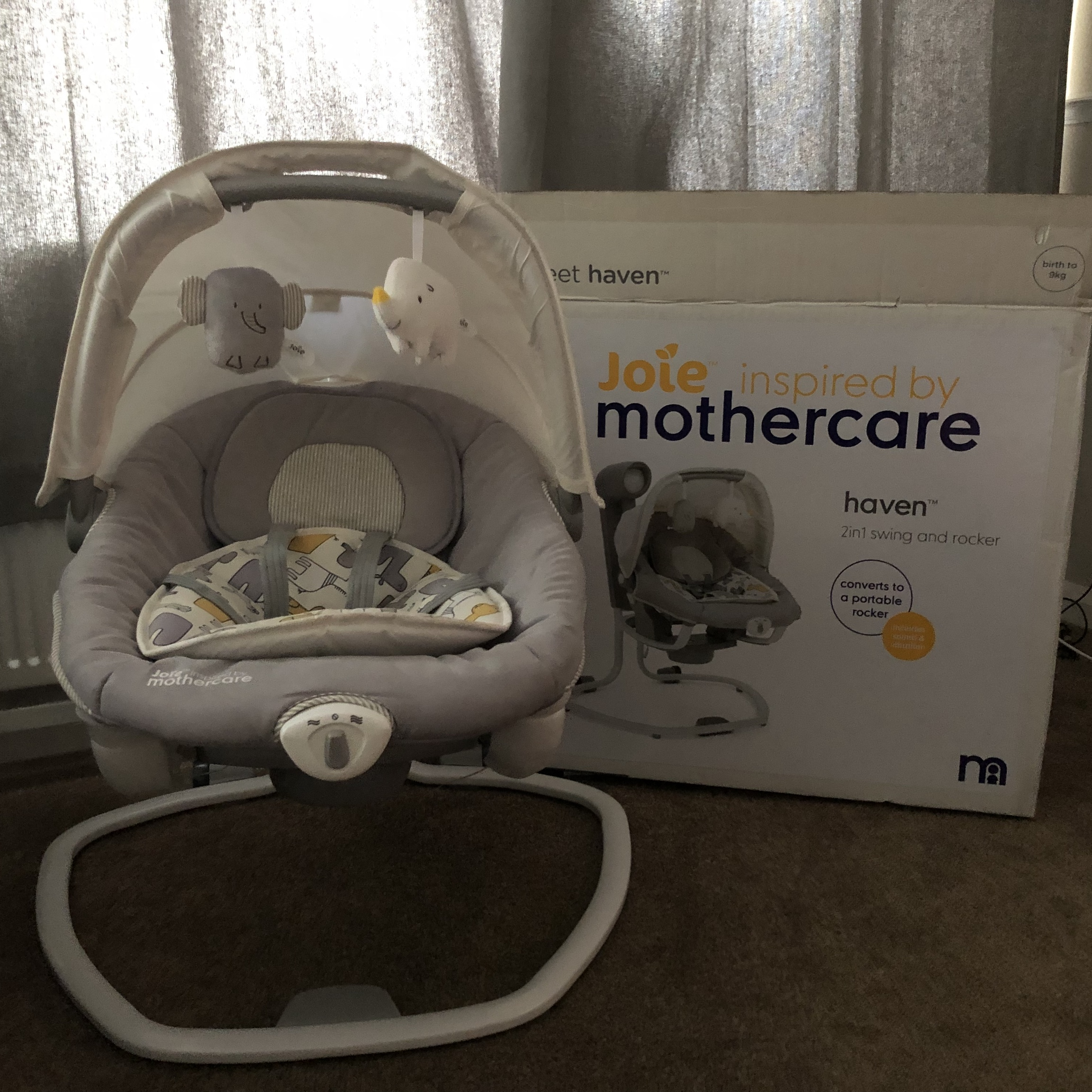 Joie Baby Swing Rocker Joie Inspired By Mothercare 2 In 1 Haven Swing Depop