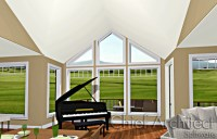 Vaulted Ceiling Gable Roof | Integralbook.com