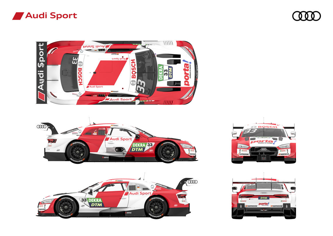 Audi Rs 5 Dtm New Clothes For The Championship Winning Car Akrapovič