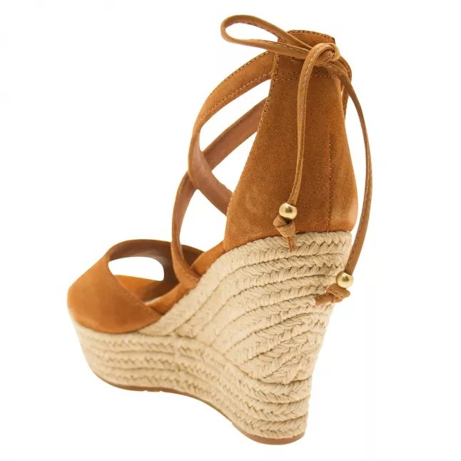 Ugg Womens Chestnut Reagan Wedges Hurleys