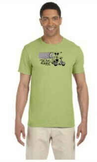 TBTN Ann Arbor T-Shirt Kiwi with Full Logo