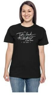 TBTN Ann Arbor T-Shirt Black with Silver