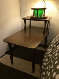 Mid century Formica end table (Furniture) in Seattle, WA