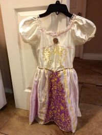 Disney Tangled Rapunzel Wedding Dress Costume (Baby & Kids ...
