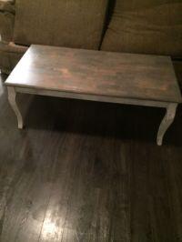 Weathered wood coffee table (Furniture) in Auburn, WA ...