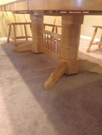 Large hardwood kitchen table (Furniture) in Auburn, WA ...