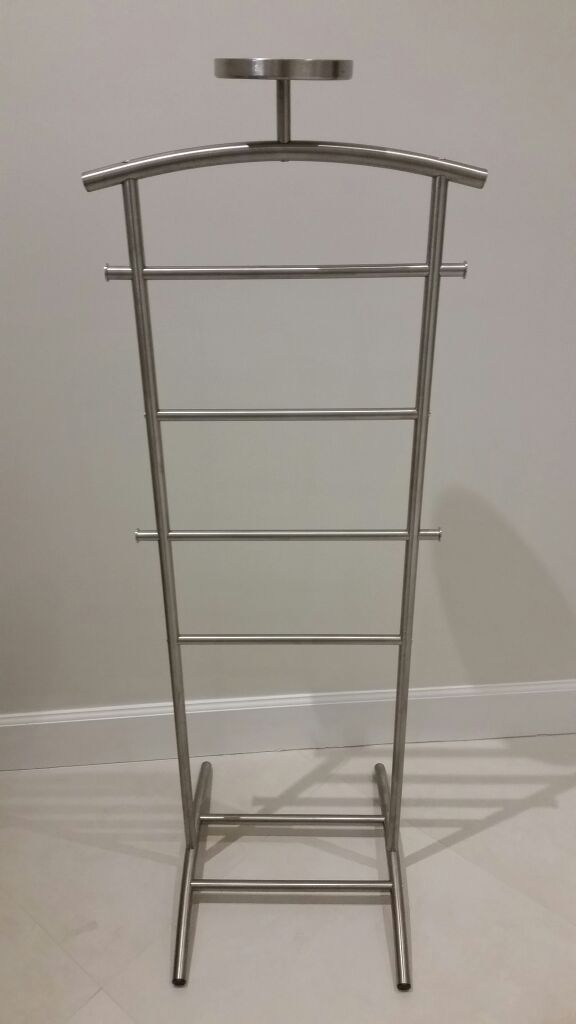 Valet Stand Ikea Ikea Grundtal Valet Stand, Stainless Steel (furniture) In