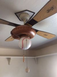 Hunter baseball ceiling fan (General) in Visalia, CA - OfferUp