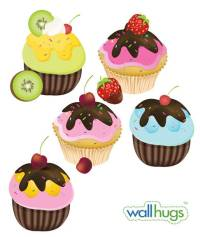 Fancy Cupcakes - Wall Decal | DesignYourWall