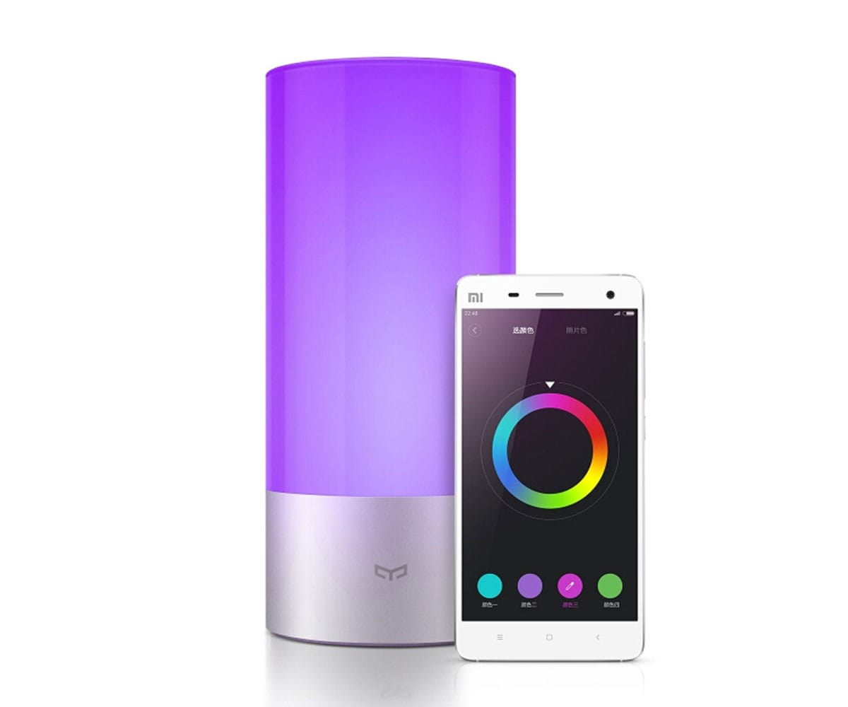 Lampara Led Colores Homegallery Es Xiaomi Mi Bedside Lamp Plata LÁmpara Led Con