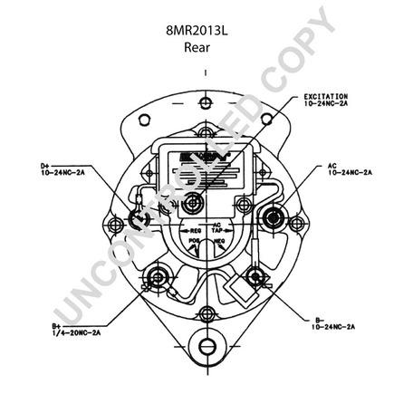 Leece Neville Alternator Wiring Diagram Prestolite