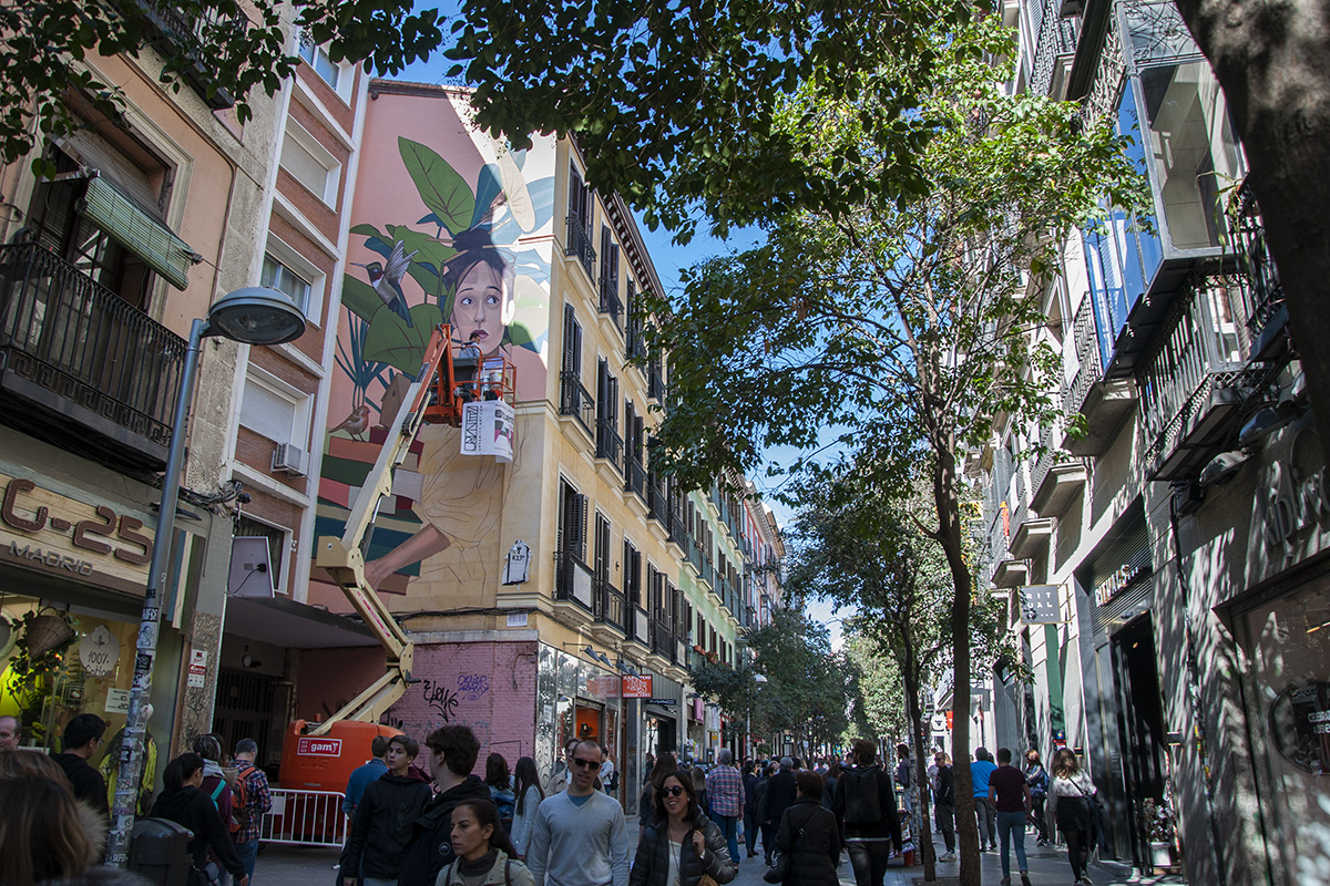 Artez See The 4 New Murals In Madrid Courtesy Urvanity Art 2019